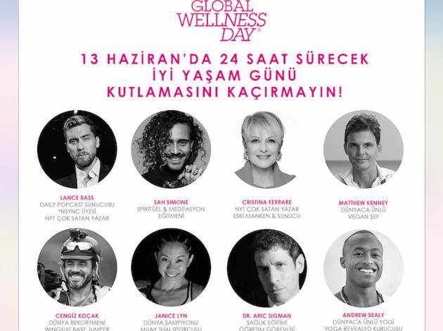 Global Wellness Day ile 24 saatlik canlı yayın