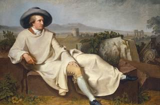 Arte, Pintura, Goethe na campagna romana, ohann Heinrich Wilhelm Tischbein, 1787