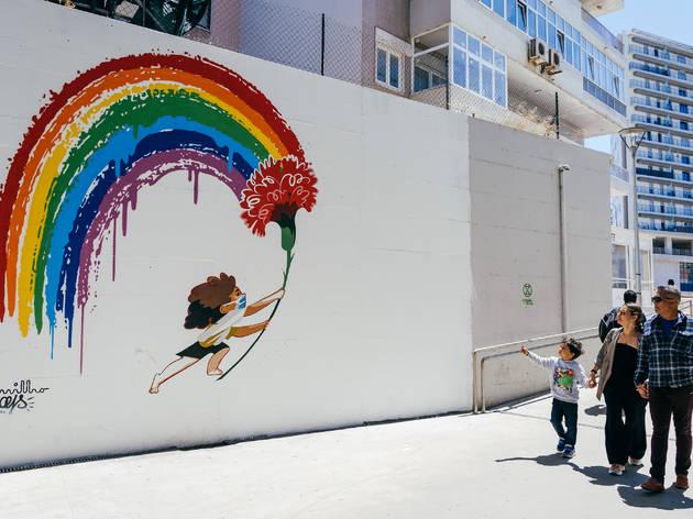 Mural 25 Abril André Carrilho