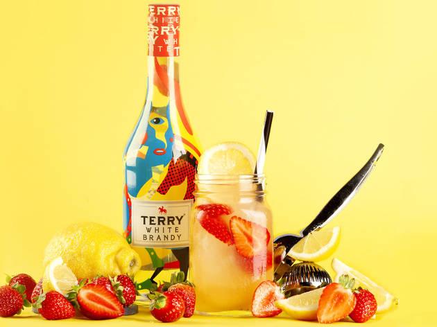 Terry White Brandy, cócteles