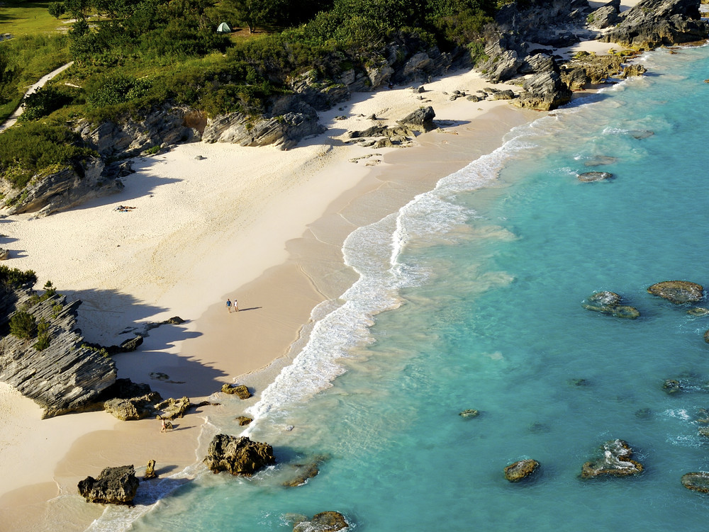 Bermuda is open to anyone in need of a beach vacation