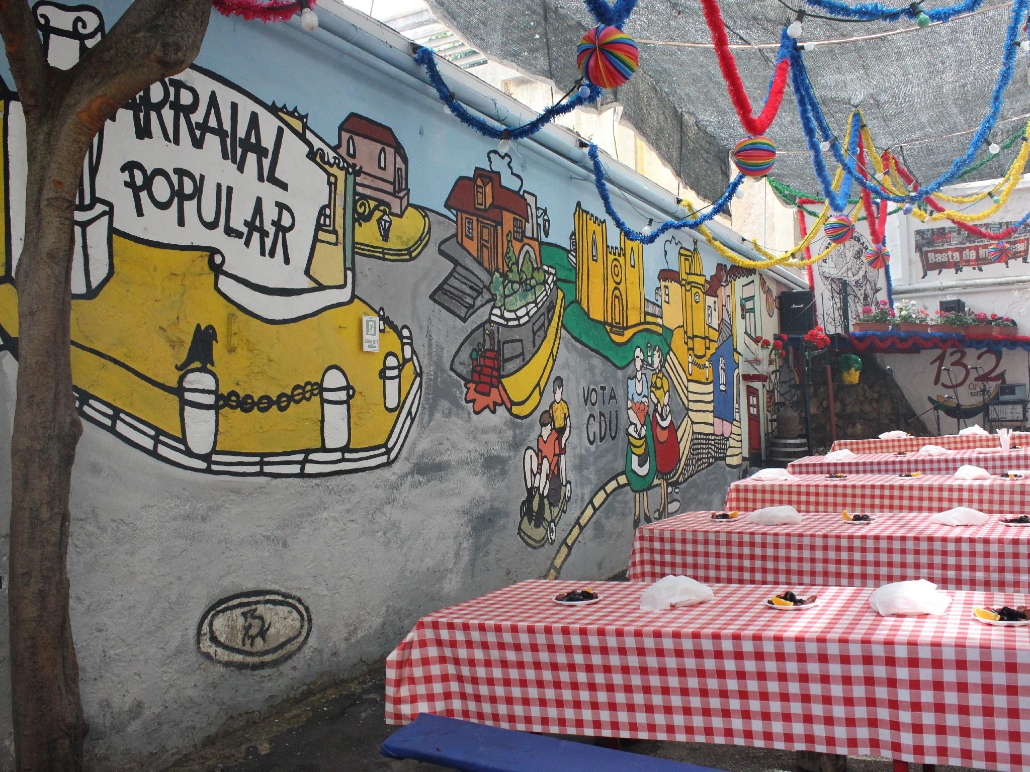 Restaurante, Esplanada, A Voz do Operário