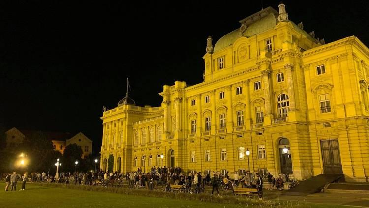 PHOTOS: Zagreb residents reclaim their city