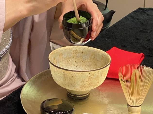 Maison Huit's Japanese Tea Matcha Workshop