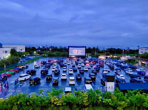 Check out Montreal's latest drive-in movie theatre