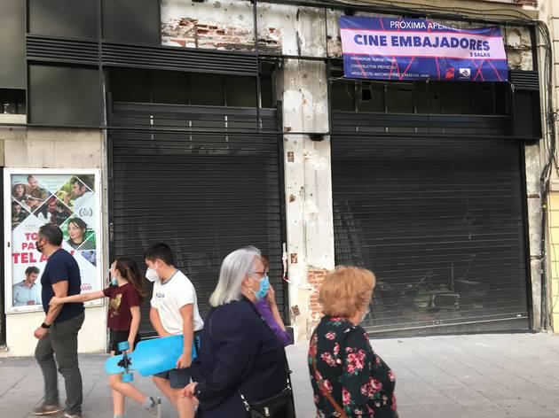 El Cine Embajadores abre sus puertas ¡por fin!