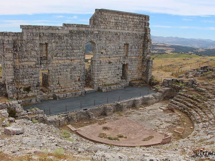 La ciudad romana de Acinipo (Málaga)
