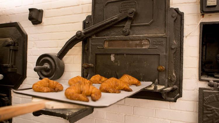 Croissants at Brunells