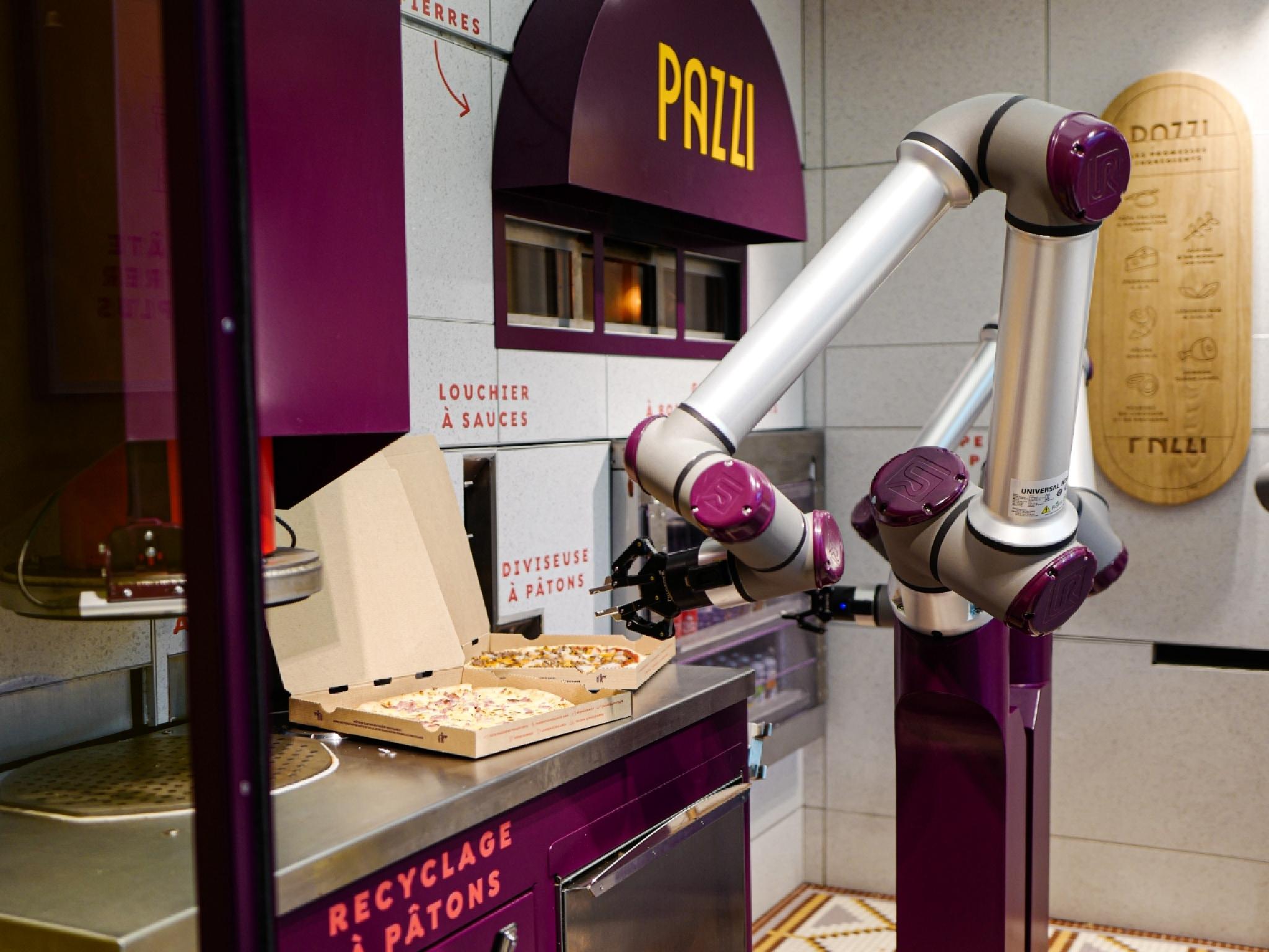 robotic pizzeria