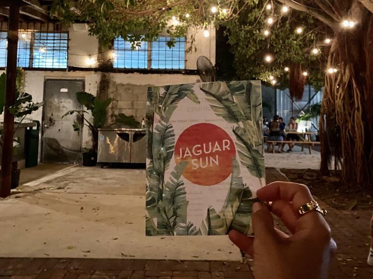 Jaguar Sun Pop-Up