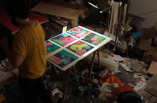 André da Loba expõe na Circus Network