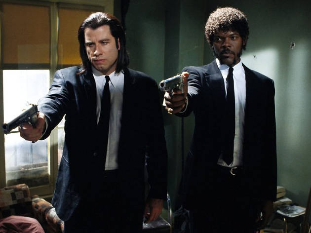 Escena de Pulp Fiction