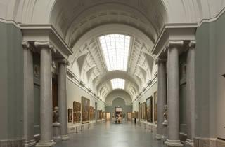 Galería central Museo Nacional del Prado