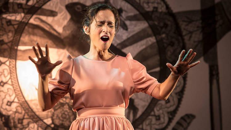 Julieta Venegas en Monologo La enamorada