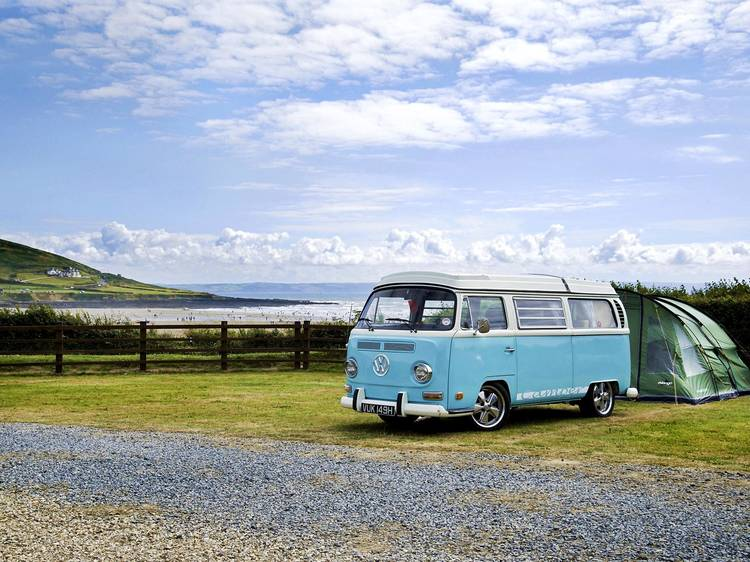 The coolest places to park your campervan in the UK