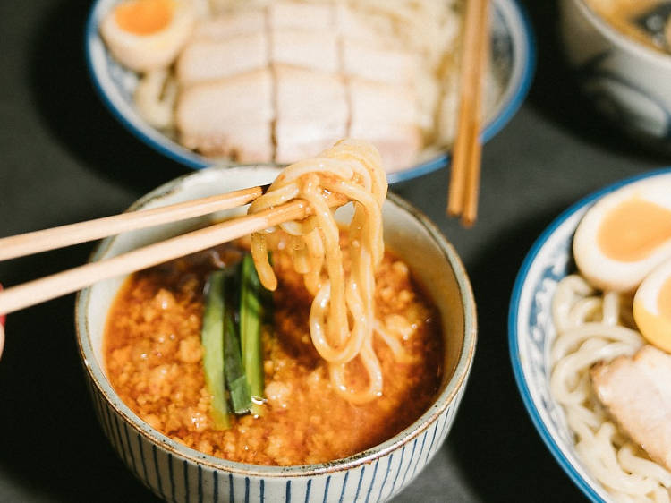 Where to find the best tsukemen in Hong Kong