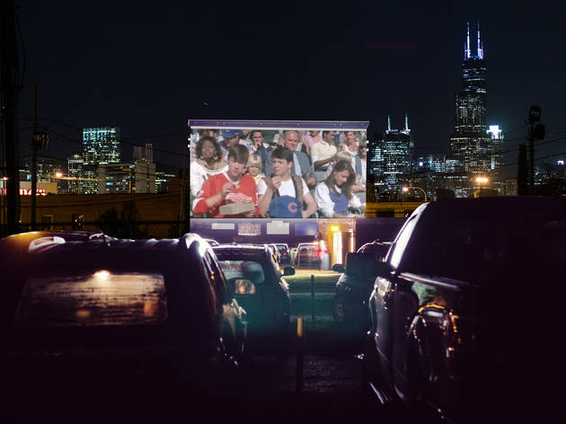 The site of Lincoln Yards will host a drive-in theater