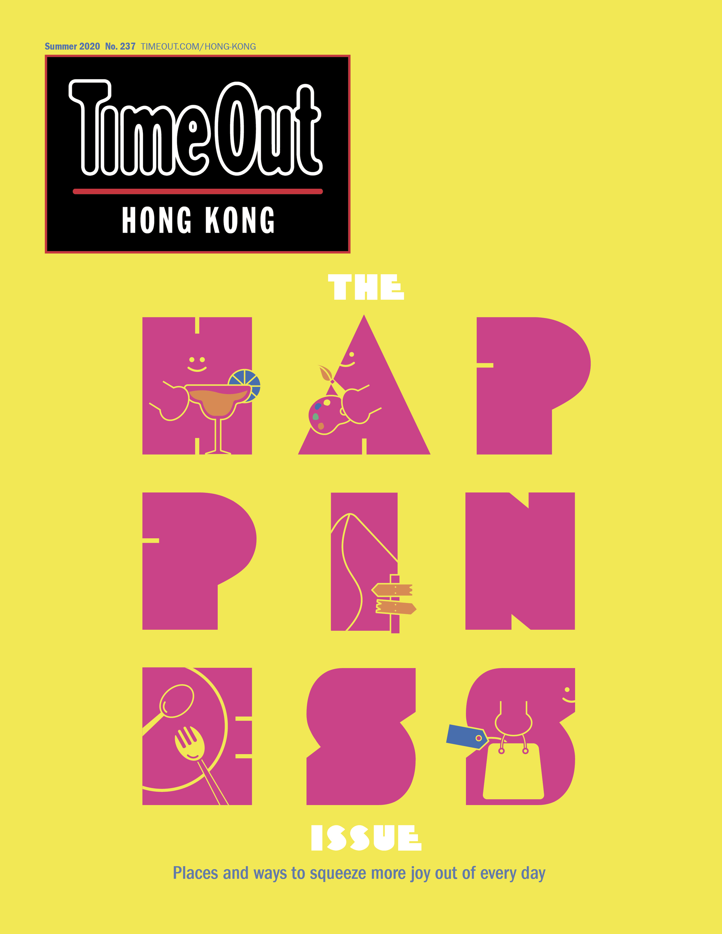 Happiness Cover , Summer 2020