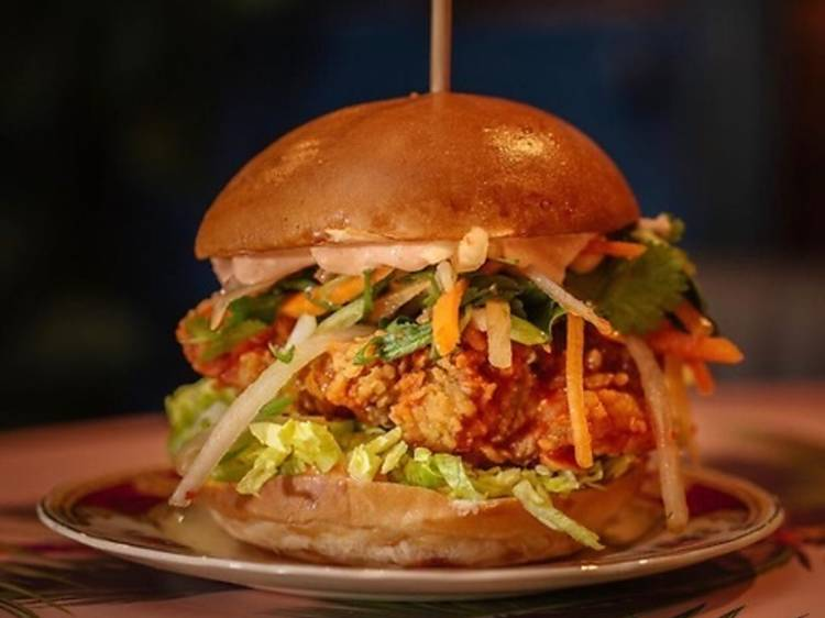 How to make the ultimate Korean chicken sandwich