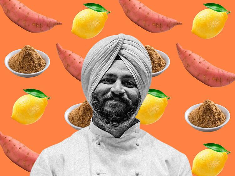Three-Ingredient Recipe: Arbinder Dugal's tandoori shakarkandi