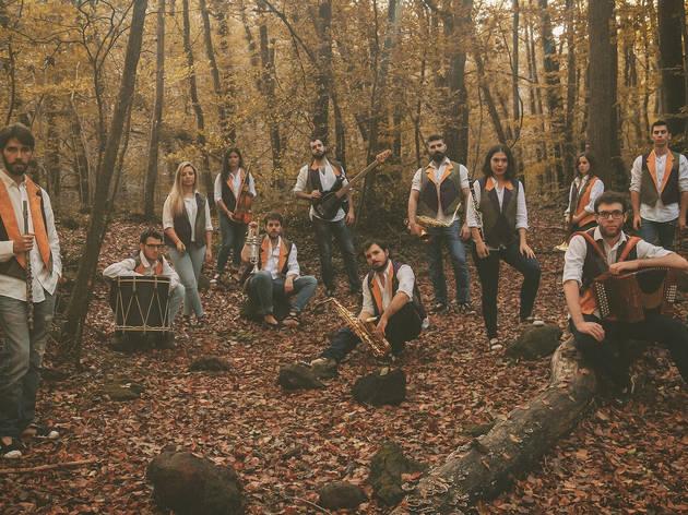 Grup de música folk Aires del Montseny