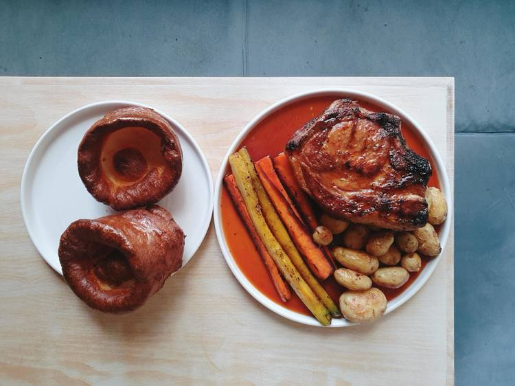 Coal Rooms' giant yorkshire puddings