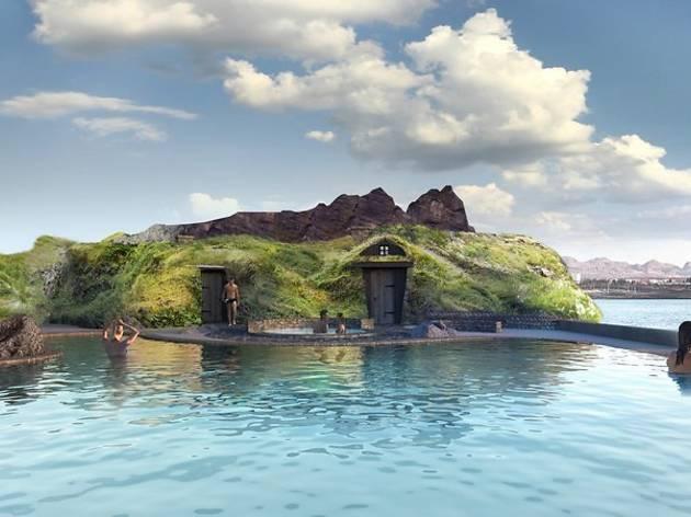 Sky Lagoon, Iceland