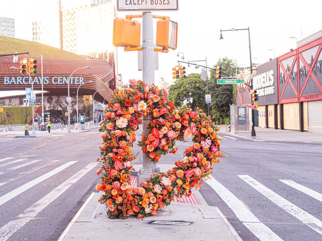 New York, Manhattan, Brooklyn, L.E.A.F. Festival of Flowers, Lewis Miller Design, Barclays Center, Fort Greene, Soho