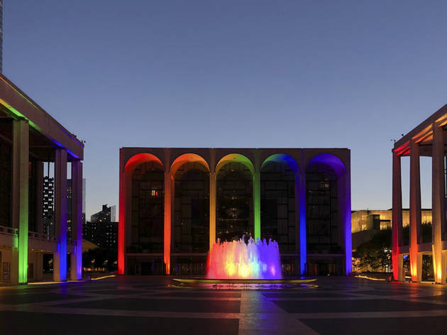 New York City, Stonewall riots, LBGTQ+, Gay Pride, Empire State Building, Flatiron Building, Lincoln Center, New York City Ballet, Metropolitan Opera, New York  Philharmonic