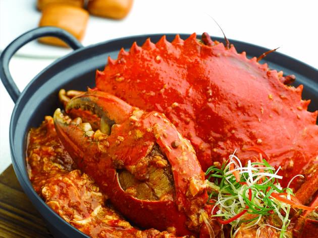Jumbo Seafood chilli crab