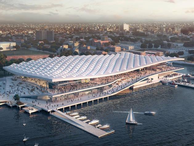 The new Sydney Fish Market design
