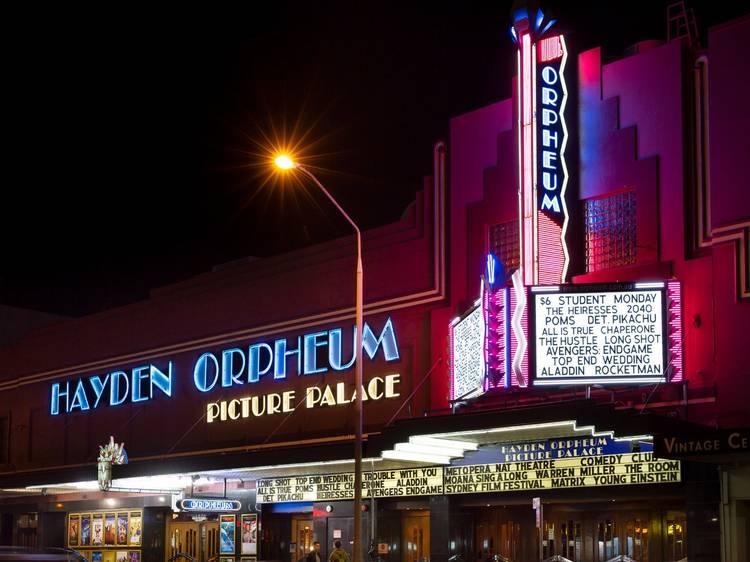 Hayden Orpheum Picture Palace, Sydney