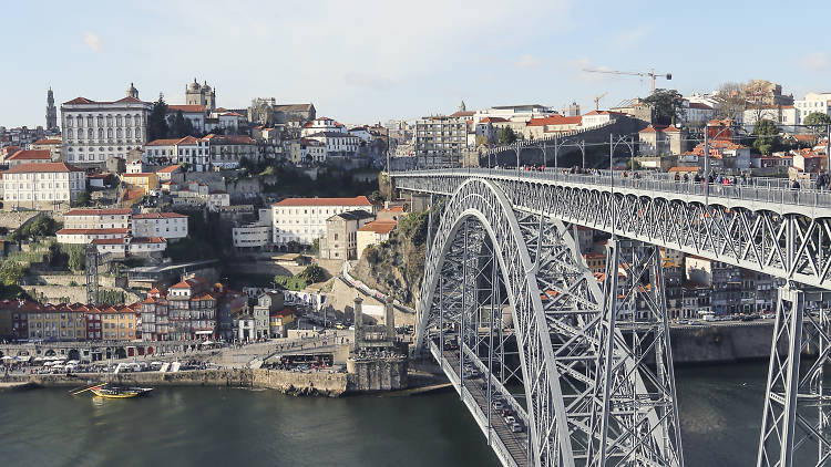 Ponte, D. Luís, Porto, Ribeira