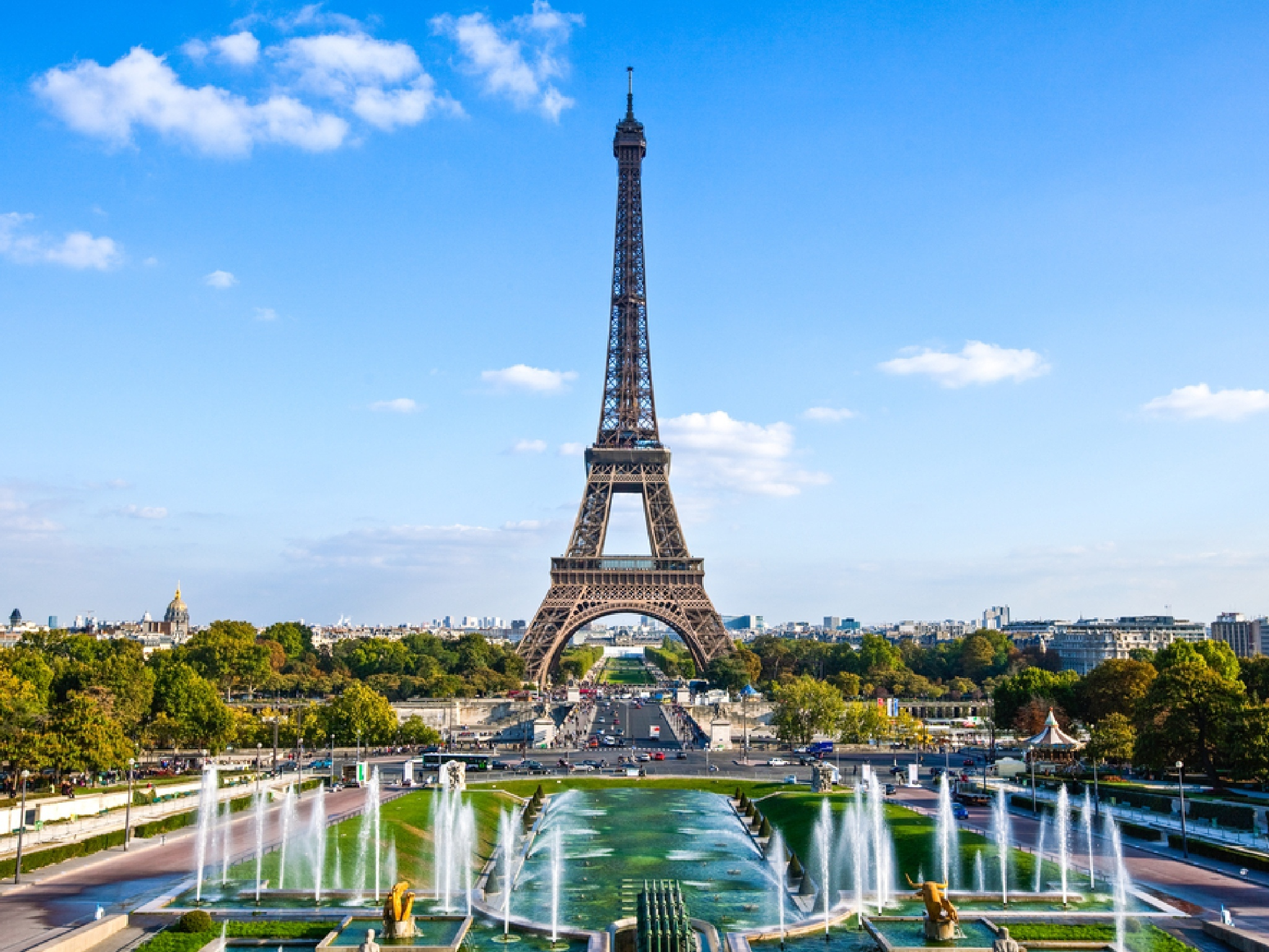 The Eiffel Tower is reopening today