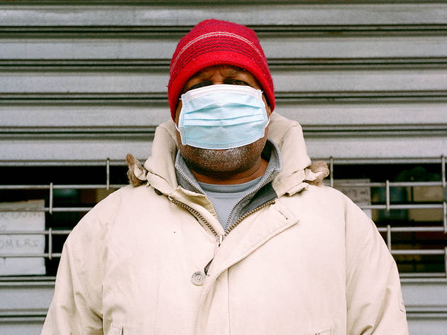 Peter Schafer, New York City, pandemic, face masks, CDC, Brooklyn