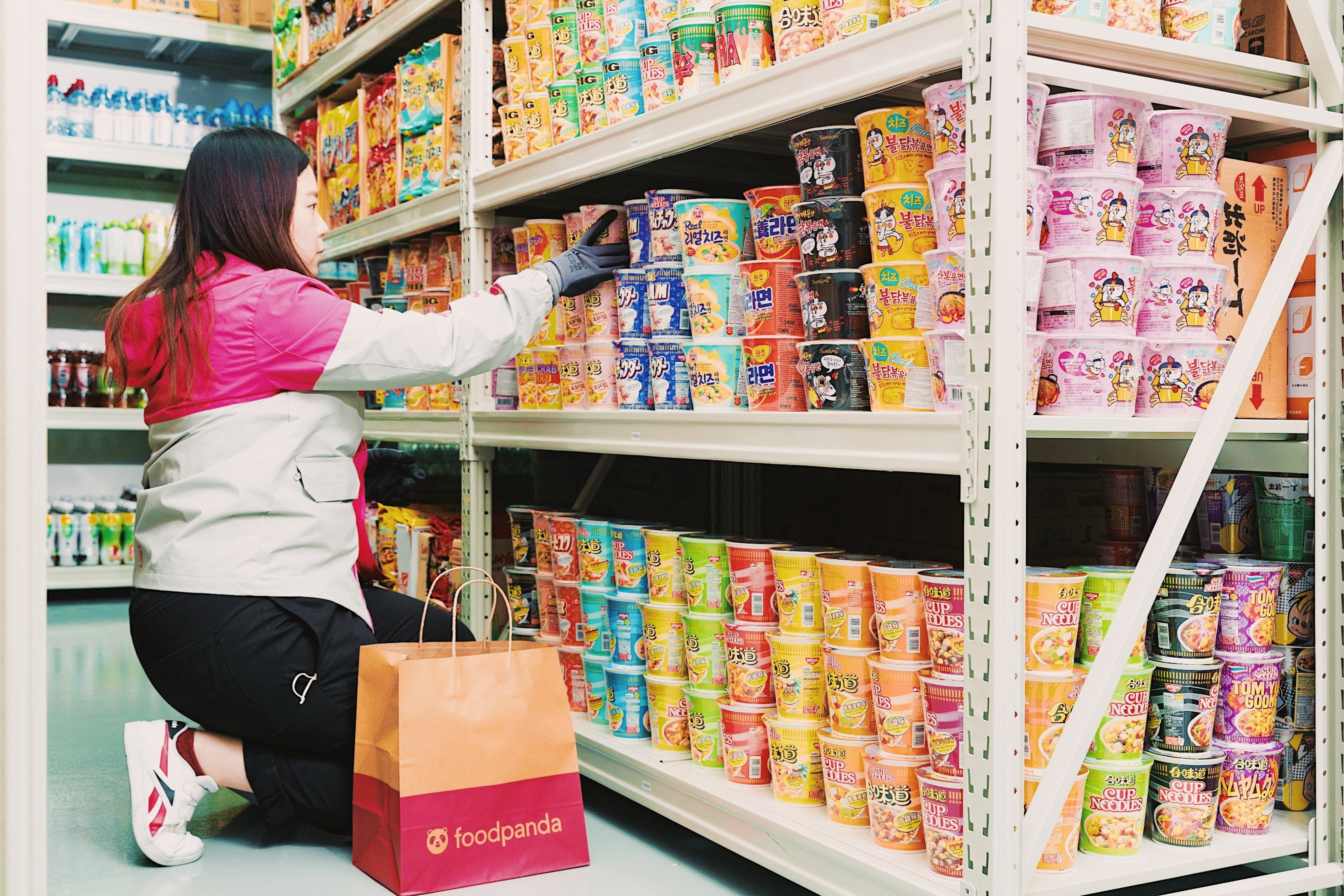 Foodpanda pandamart Hong Kong