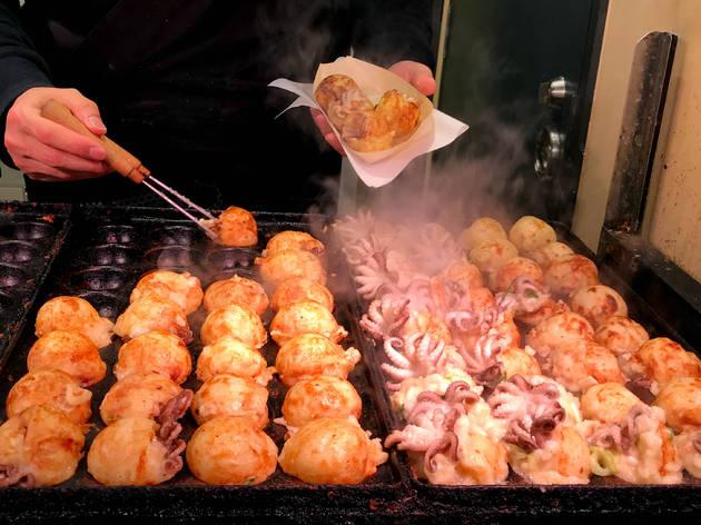 Takoyaki - stock photo