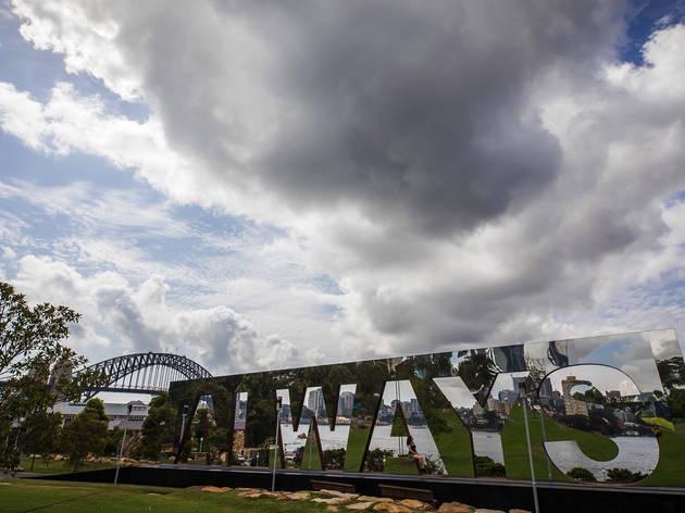 'Always' 2018, Jacob Nash artwork Barangaroo Reserve