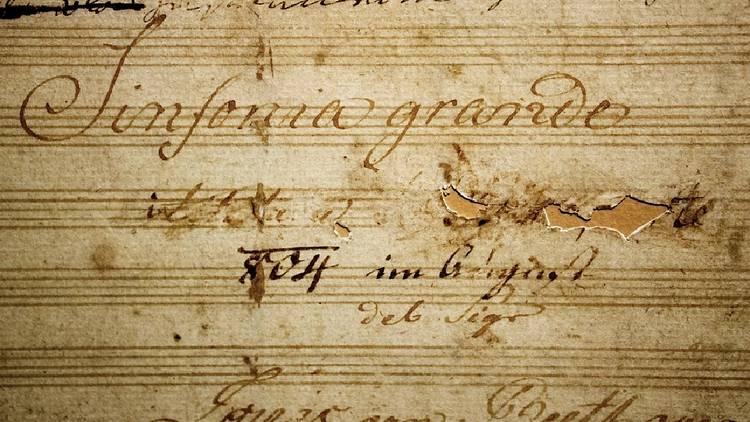 Música, Pauta, Beethoven, Sinfonia n.º 3, Eroica