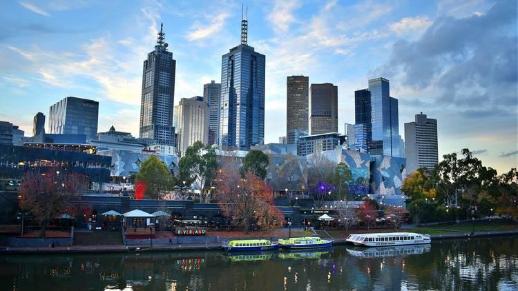 Melbourne skyline generic
