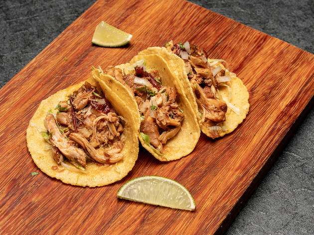 Chimichanga Chicken tacos