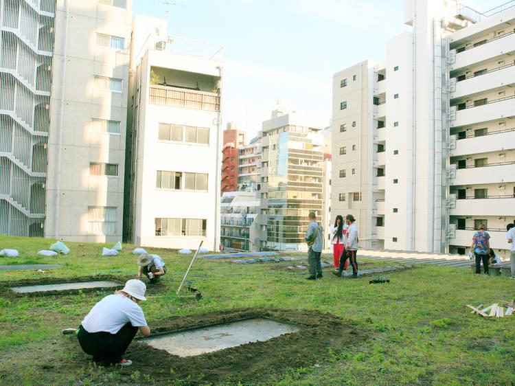 農園を作ることで街を変えていく