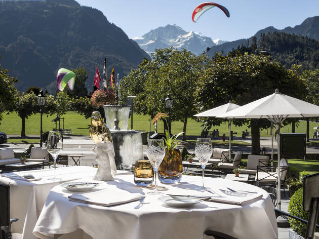 Mix leisure and luxury with a travel package at Victoria-Jungfrau Grand Hotel & Spa