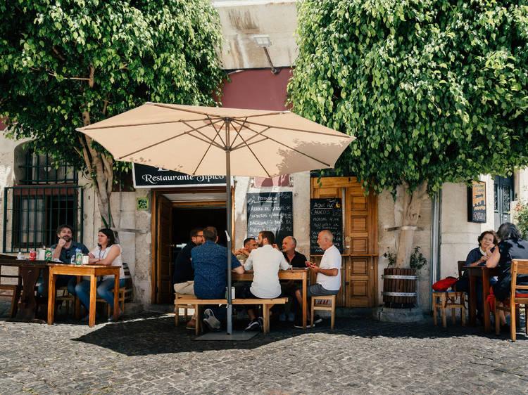Novas esplanadas em Lisboa