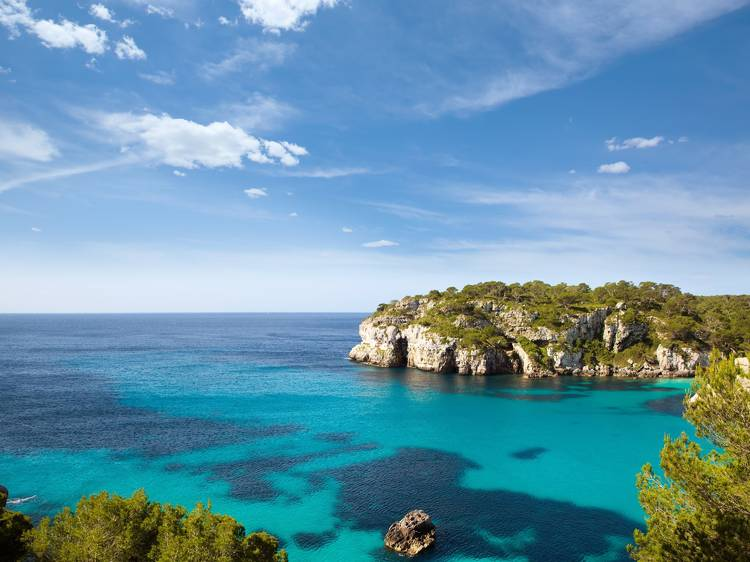 Cala Macarella, Menorca, Espanya