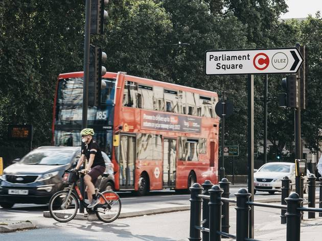 congestion charge in central london