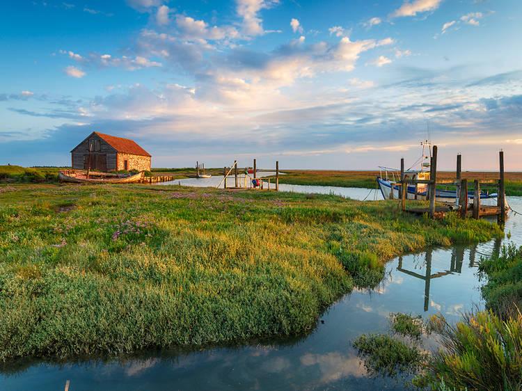 Norfolk Coast, England