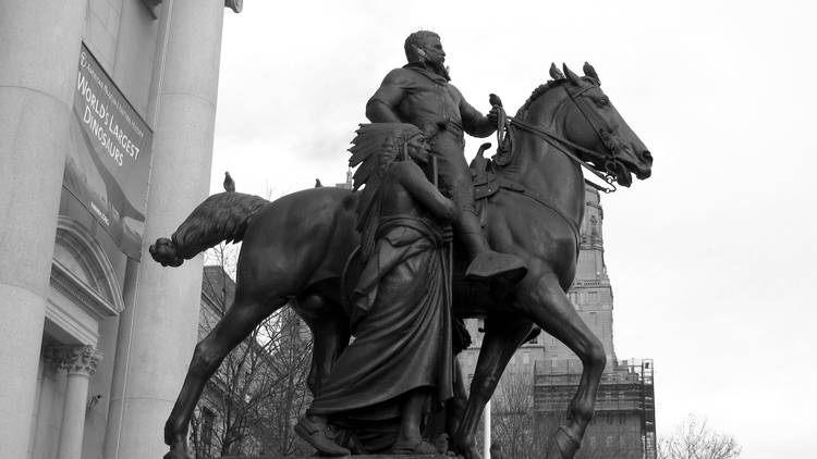 George Floyd, Christopher Columbus, George Washington, Frank Rizzo, American Museum Of Natural History, Theodore Roosevelt, Central Park