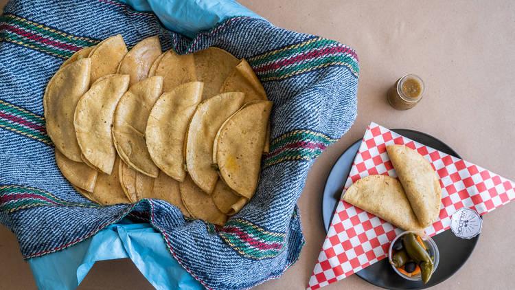 tacos de canasta en canasta