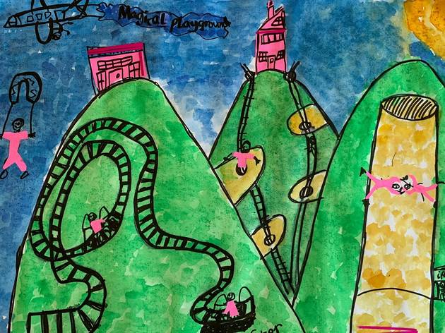 'Magical Playground' by Rupert, aged 8